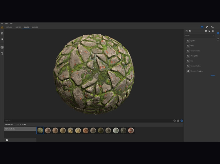 材质纹理编辑创建工具软件 Substance Alchemist 2020.2.1插图(1)